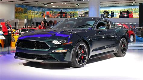 2019 Ford Mustang Bullitt Projects Effortless Retro Cool
