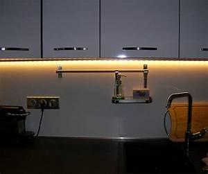 realisations electricien vif amve electricien grenoble With lumiere plan de travail cuisine