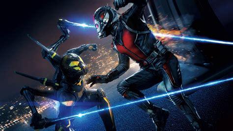 wallpaper ant man marvel wasp yellowjacket movies