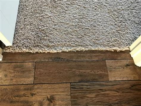 Carpet to hardwood transition?   DoItYourself.com