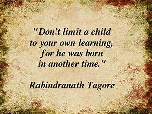Rabindranath Tagore's Quotes on Education - Careerindia