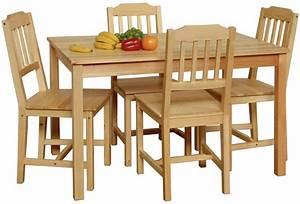 Esstisch Stühle Holz : essgruppe kiefer massiv bestseller shop f r m bel und ~ Michelbontemps.com Haus und Dekorationen