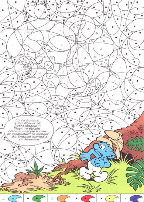 Coloriage pyjamasques a imprimer dessin sur coloriage info. Coloriage Magique Facile Schtroumpf dessin gratuit à imprimer