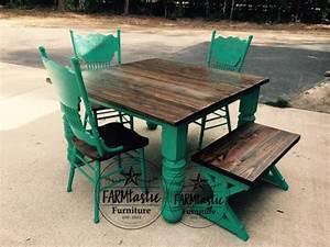 Patina Green Farmhouse Table General Finishes Design Center