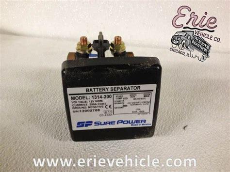 lift gate parts erie vehicle 1314 200 sure power battery