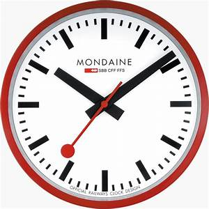 A990 clock 11sbc mondaine clock watches2u for Mondaine wall clock review