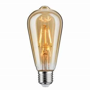 Ampoule Vintage Led : ampoule led e27 edison vintage 4w 25w blanc chaud castorama ~ Edinachiropracticcenter.com Idées de Décoration