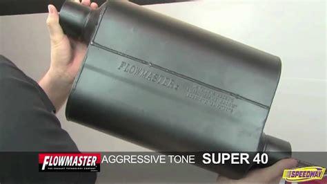 flowmaster super  series muffler sound test youtube