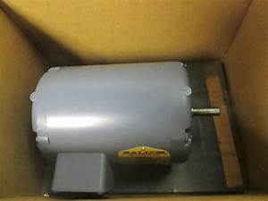 Baldor M3007 1  3 Hp Electric Motor 208 460v 3ph 1725 Rpm 1  2