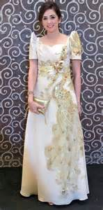 Folk Style Pictures by 17 Best Images About Filipiniana Dresses Gowns