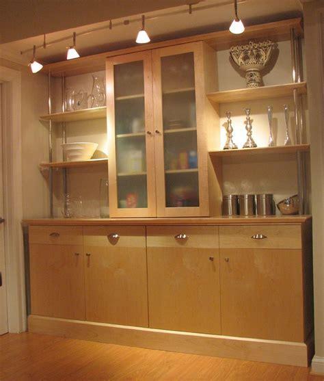 Hand Made Maple Kitchen Wall Unit by Scott Pennington