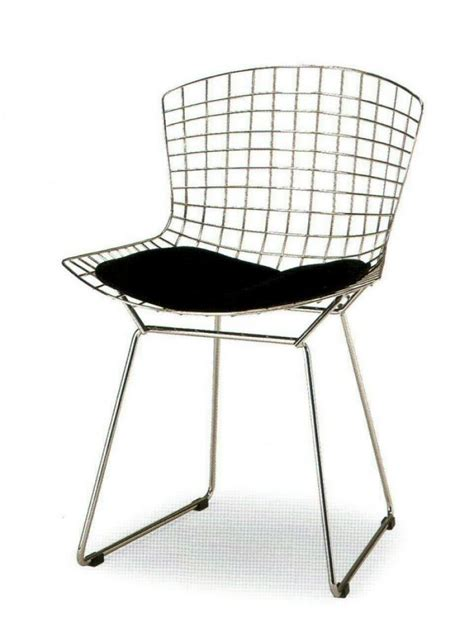chaises bertoia harry bertoia wire chair bauhaus italy