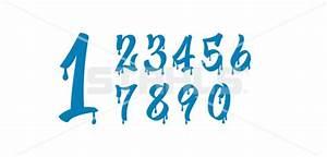 Number Fonts Graffiti   www.pixshark.com - Images ...