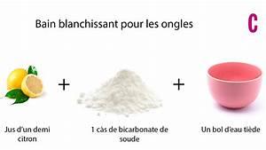 Detacher Linge Blanc Avec Bicarbonate Soude : ongles jaunes nos 7 astuces pour blanchir les ongles ~ Nature-et-papiers.com Idées de Décoration