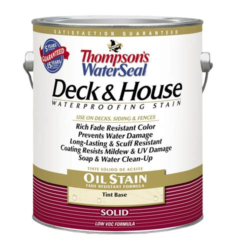 buy the thompson s th 016981 16 deck stain solid oil