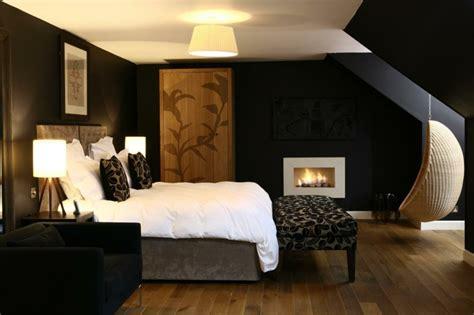 master bedroom paint ideas schwarze wandfarbe bringt charme und dramatik ins innendesign