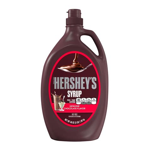 HERSHEY'S - Chocolate Syrup - SmartLabel™