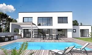 Maison En L Moderne : maison moderne vide sur s jour st gilles croix de vie depreux construction ~ Melissatoandfro.com Idées de Décoration