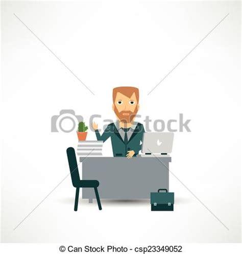 assurance bureau vecteur clipart de bureau assurance séance