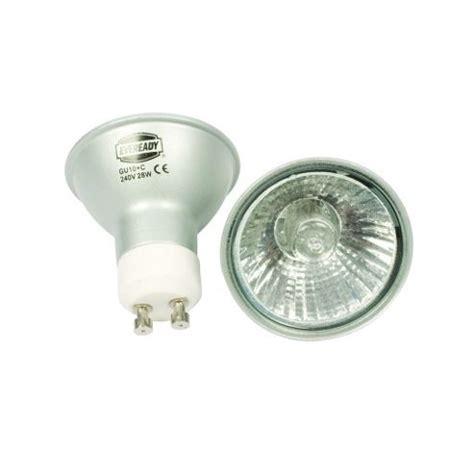 buy energy saving halogen gu10 40w light bulb pack