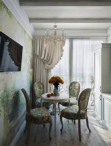 salle a manger design dans un petit appartement de ville With salle a manger style romantique