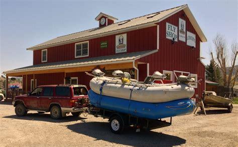Boat Trailer Rental Missouri by Crosscurrents Fly Shop Missouri River Craig Montana