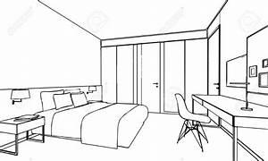 Perspektive Zeichnen Raum : skizze zeichnung perspektive eines inter raum umrei en in 2019 ausmalbilder zimmer ~ Orissabook.com Haus und Dekorationen