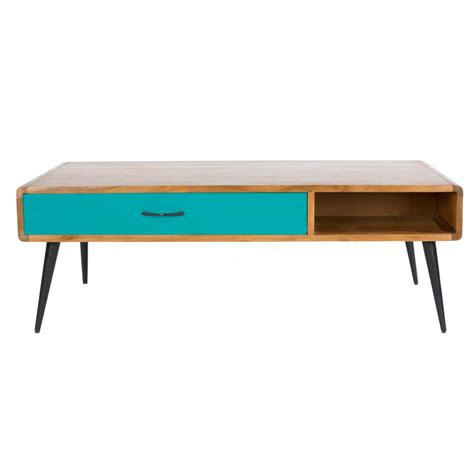 slimline chest of drawers buy libra lightwood multicoloured retro coffee table at