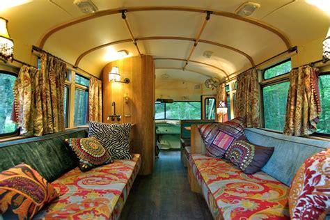 moroccan style interior transforms bus  home captivatist