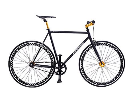Aceger 700c Single-speed Fixed Gear Hollowed Rim Urban