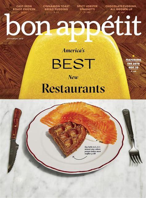bon appetit magazine enjoy  food everyday
