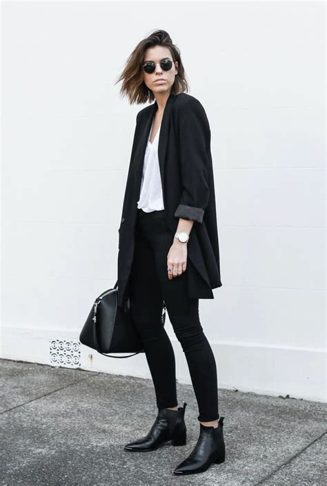 25 Trendy Womenu0026#39;s Outfit Ideas With Long Blazers - Ohh My My