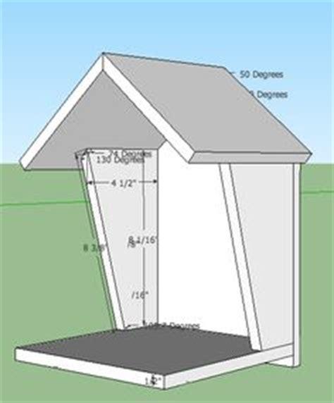 open box robin bird house plans birdhouses pinterest dr  house  birds