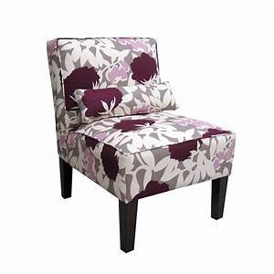 Shop Skyline Furniture Clark Collection Plum Accent Chair