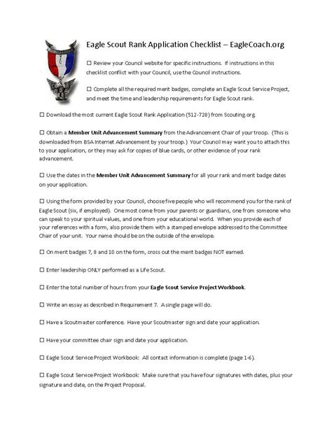 Eagle Scout Resume Form by Eagle Scout Letter Of Recommendation Form Pdf Gallery Letter Sles Format