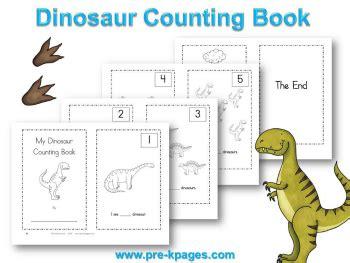dinosaur math worksheets  preschool