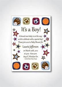 8 best images of sports theme printable templates free With sports baby shower invitations templates
