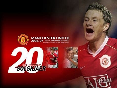 Ole Solskjaer. | Manchester united players, Manchester ...