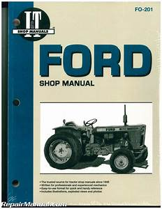Ford Fordson Tractor Repair Manual Dexta  Super Dexta
