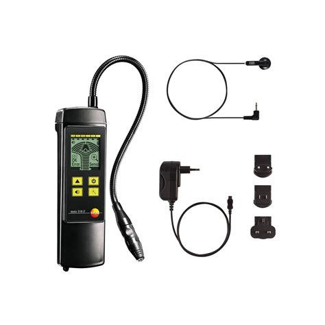on testo testo 316 2 for gas leak detection leak detectors flue