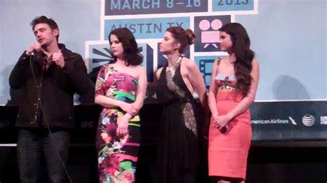 SXSW - James Franco & Selena Gomez - SPRING BREAKERS Q&A ...