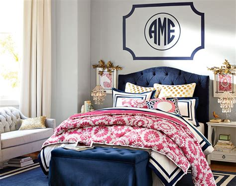Navy And Pink Bedroom by The Navy And Pink Together Bedroom