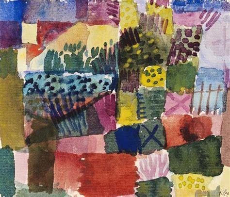 Südlicher Garten  Paul Klee Als Kunstdruck Oder