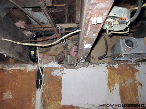 Rewiring Old House Row Reno