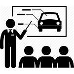 Driving Driver License Icon Instructor Learner Teacher