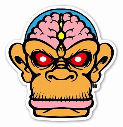 Sticker Brain Stickers Bobby Chimp Custom Stickerapp