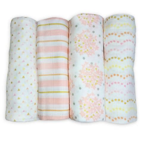 swaddle designs blanket swaddledesigns 174 cotton muslin swaddle blankets heavenly