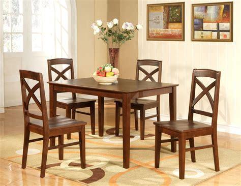 Lisbon 5 PC Rectangular Dinette Kitchen Table Set Size 36
