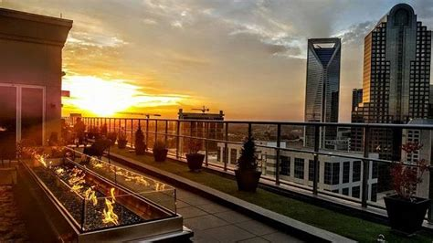 fahrenheit charlotte rooftop bar  rooftop guide