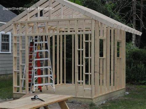 custom design shed plans  gable storage diy instructions  blueprints  ebay